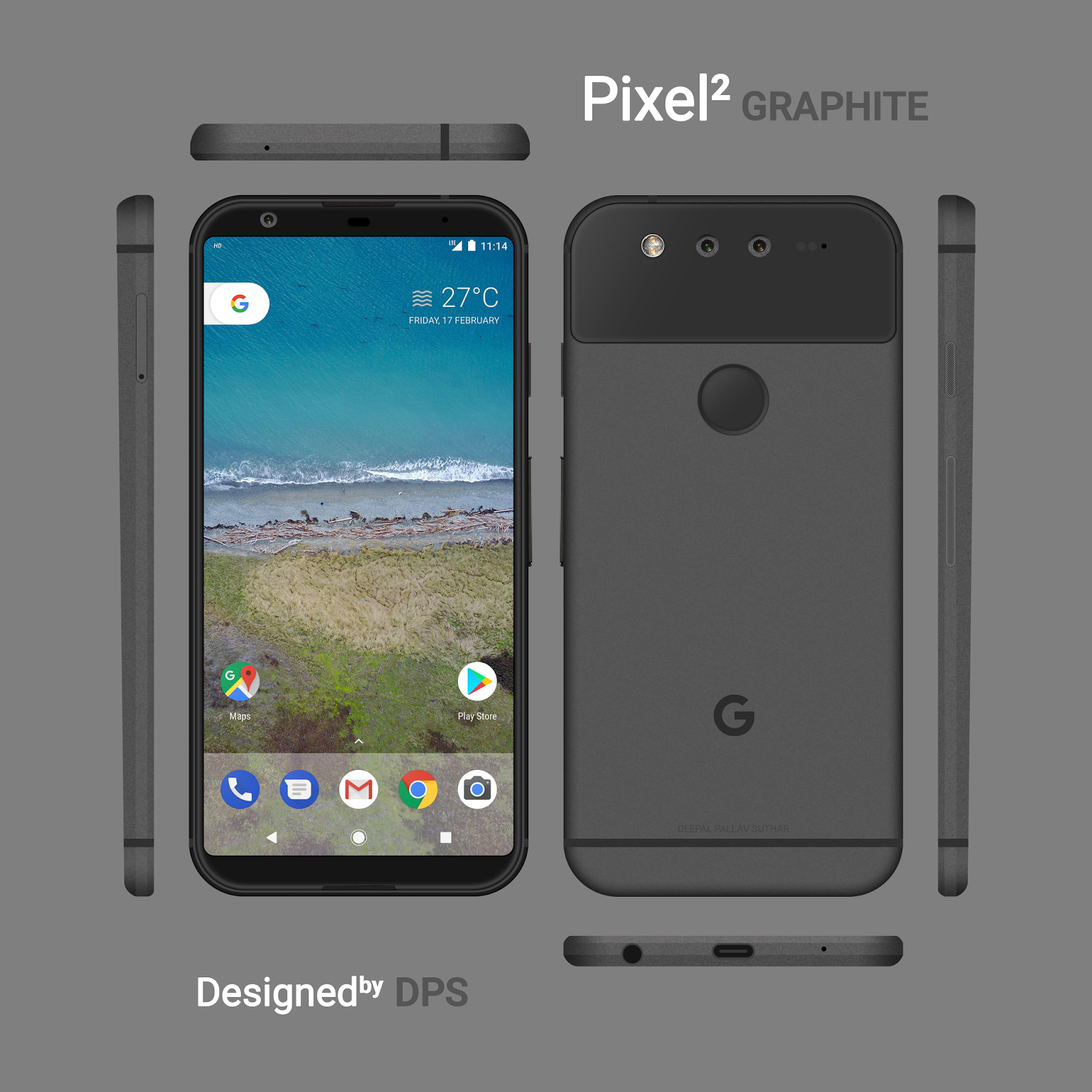 Is this the best-looking Google Pixel 2 concept yet? Share your ...