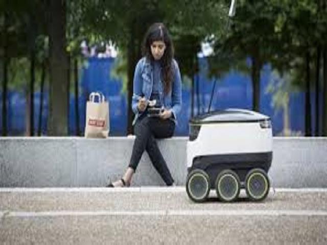 Gambar Robot Kurir