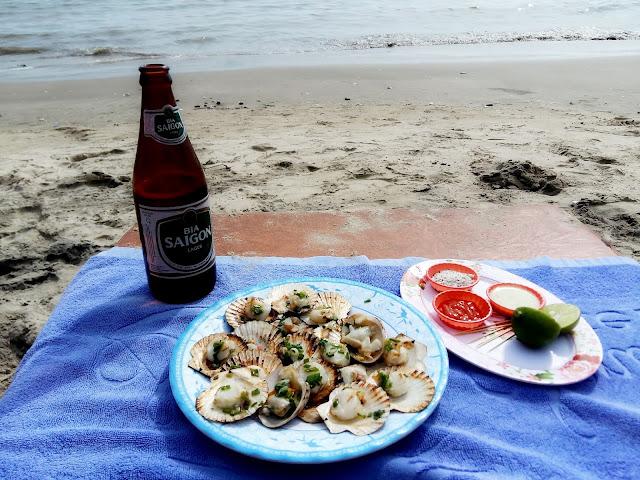 можно ли есть морепродукты на пляже