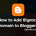 How to Add Bigrock Custom Domain to Blogger - 2017