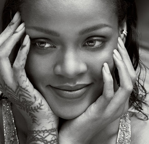 rihanna sexy vogue models photo shoot