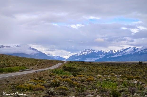 Raggiungendo il Perito Moreno
