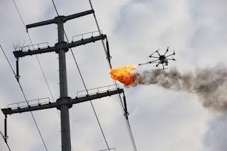 https://gizmodo.com/power-company-sends-fire-spewing-drone-to-burn-trash-of-1792482517