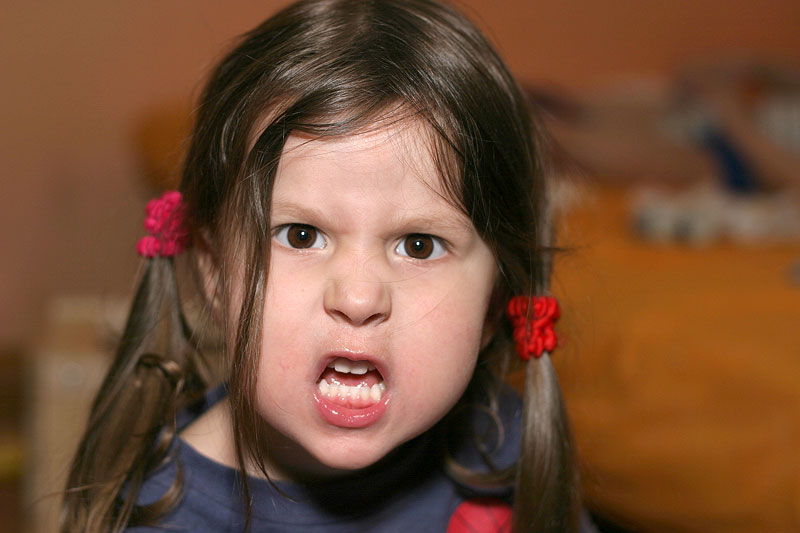 angry faces of children - photo #23