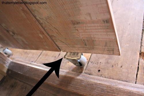 wheels on sliding barn door