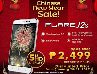 Cherry Mobile Flare J2s