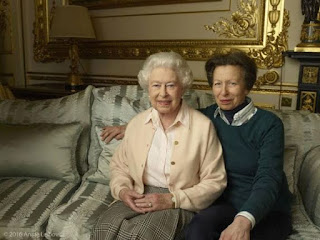 Queen Elizabeth-Princess Anne