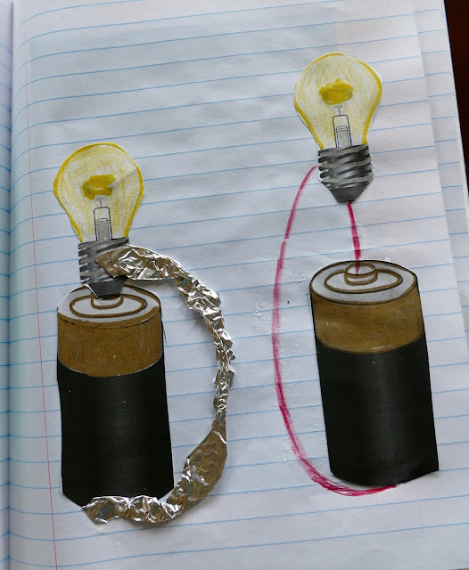 interactive notebook circuit electricity