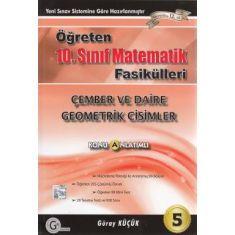 Gür 10.Sınıf Matematik Fasikülleri Çember ve Daire - Geometrik Cisimler