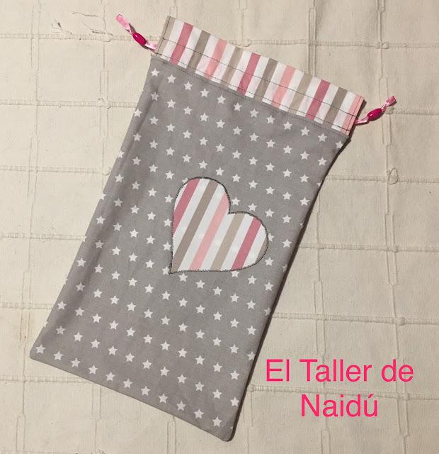 Bolsas de tela con aplicación