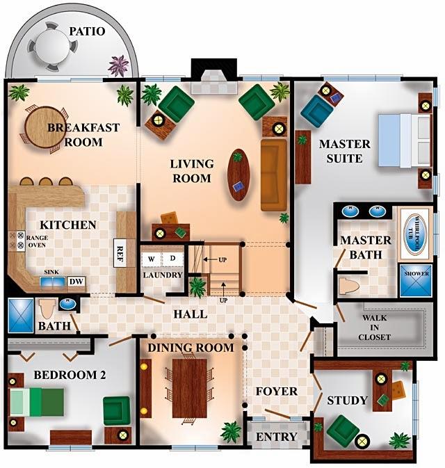 Foundation Dezin Amp Decor Residential Colored Floor