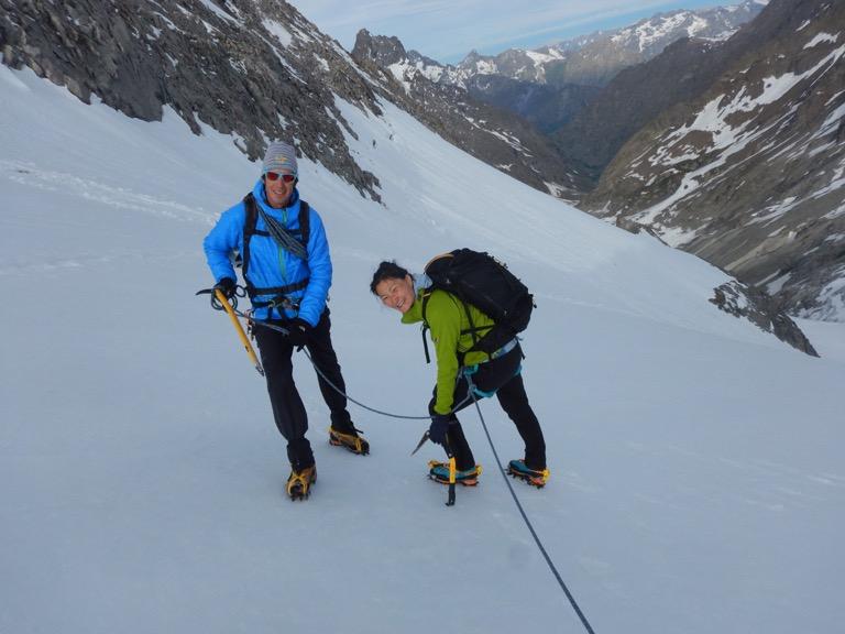 Quentin delavignette guide de haute montagne uiagm t te nord du replat ar - Dormir la tete au sud est ...