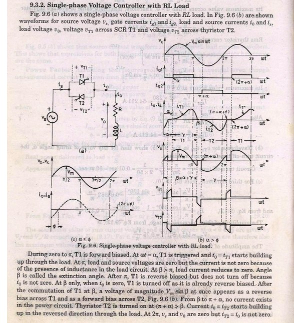 Single Phase Voltage Controllers - Electrical engineering