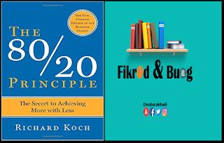 Mubarak hadi for Koch 80 20 principle