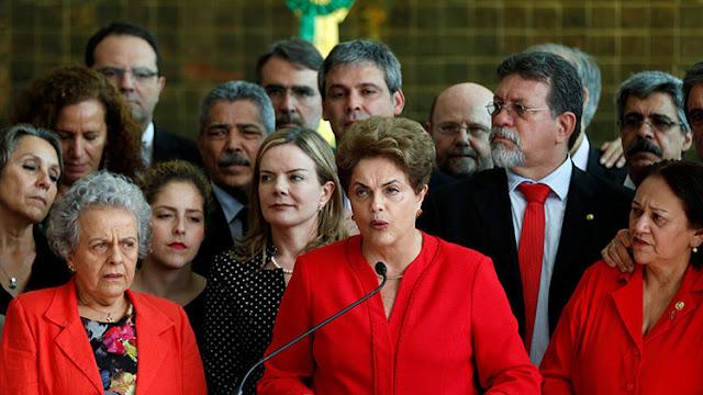 """Dilma Rousseff tras su destitución: """"No desistan de luchar"""""""