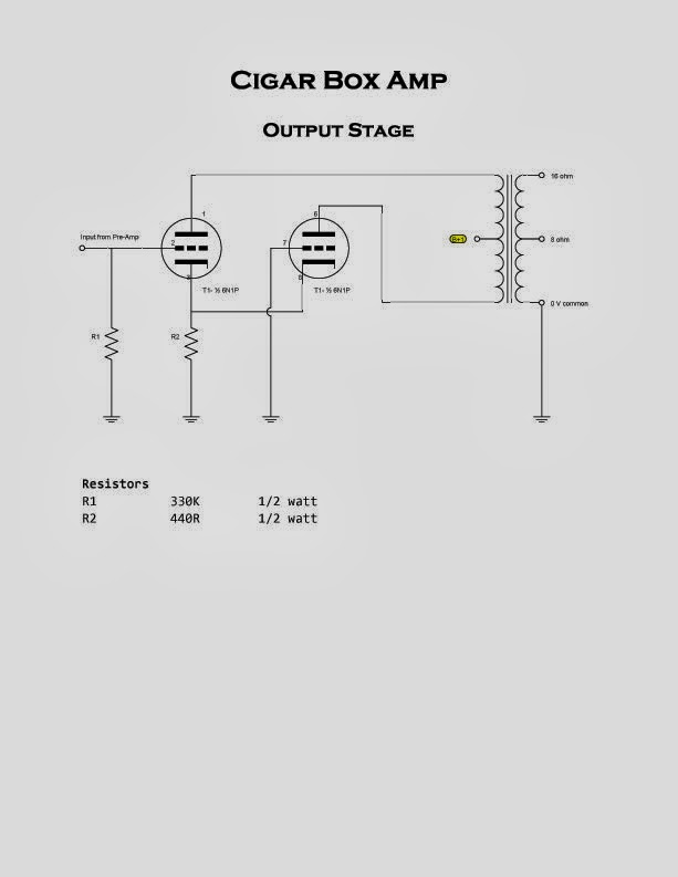wiring 3 speakers to a 2 channel amp diagram cigar amp diagram cigar box amplifier