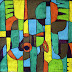African Abstract Cubist Paintings: Glover Darlington