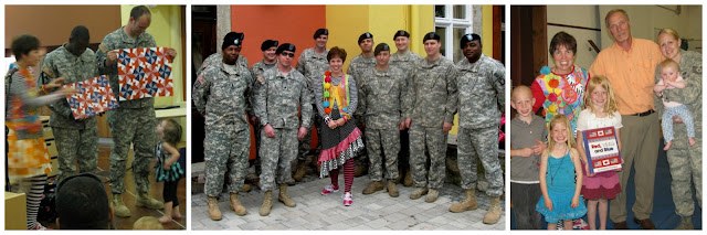"photo of: Debbie Clement's European Tour for ""Month of the Military Child"""