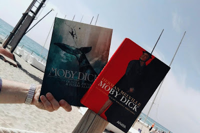 Moby dick, novela gráfica, palabras en cadena
