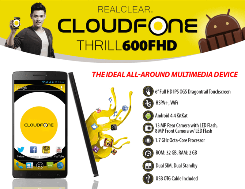 CloudFone Thrill FHD