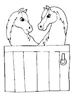 סוסים ציורים לצביעה