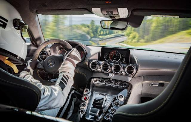 2018 Mercedes AMG GT R Interior