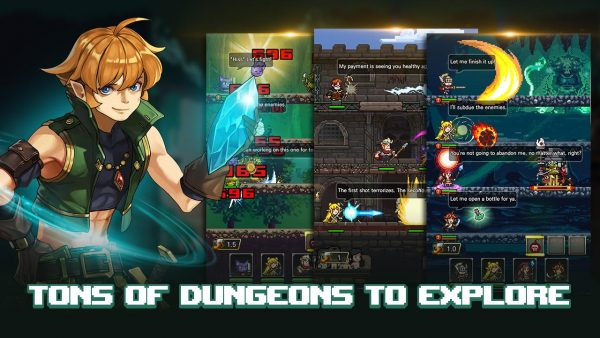Knight Fever MOD Full Unlocked Characters Apk+Data for Android