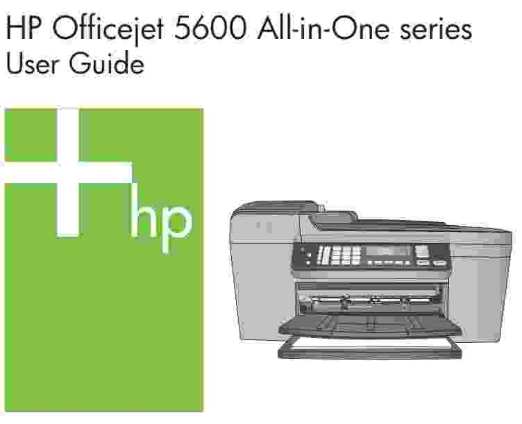 HP OFFICEJET 5600 SERIES ALL IN ONE DRIVERS