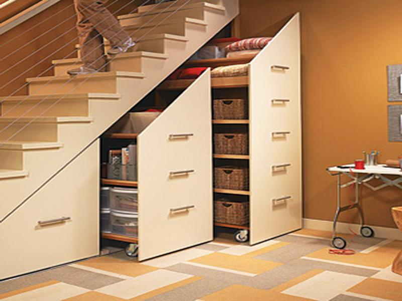 Astonishing Under Stair Storage with Catchy Ideas