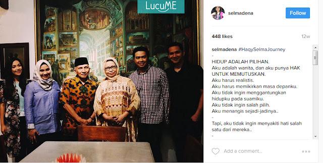 Kisah Cinta Selmadena & Haqy Rais Ini Viral, Bikin Netizen Realistis Tentang Cinta