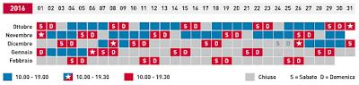 Calendario Volandia