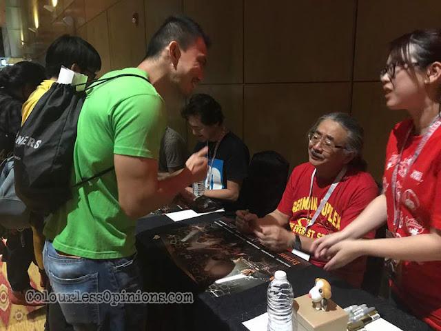 nobuo uematsu earthbound papas meet and greet fans kl malaysia comic fiesta 2017