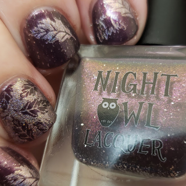 top shelf lacquer, night owl lacquer, superchic lacquer, nail art