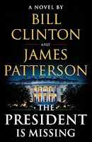 The President is Missing book cover