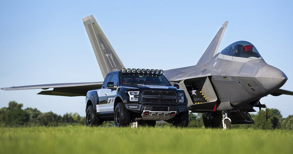 Ford F-22 F-150 Raptor Sells For $300,000