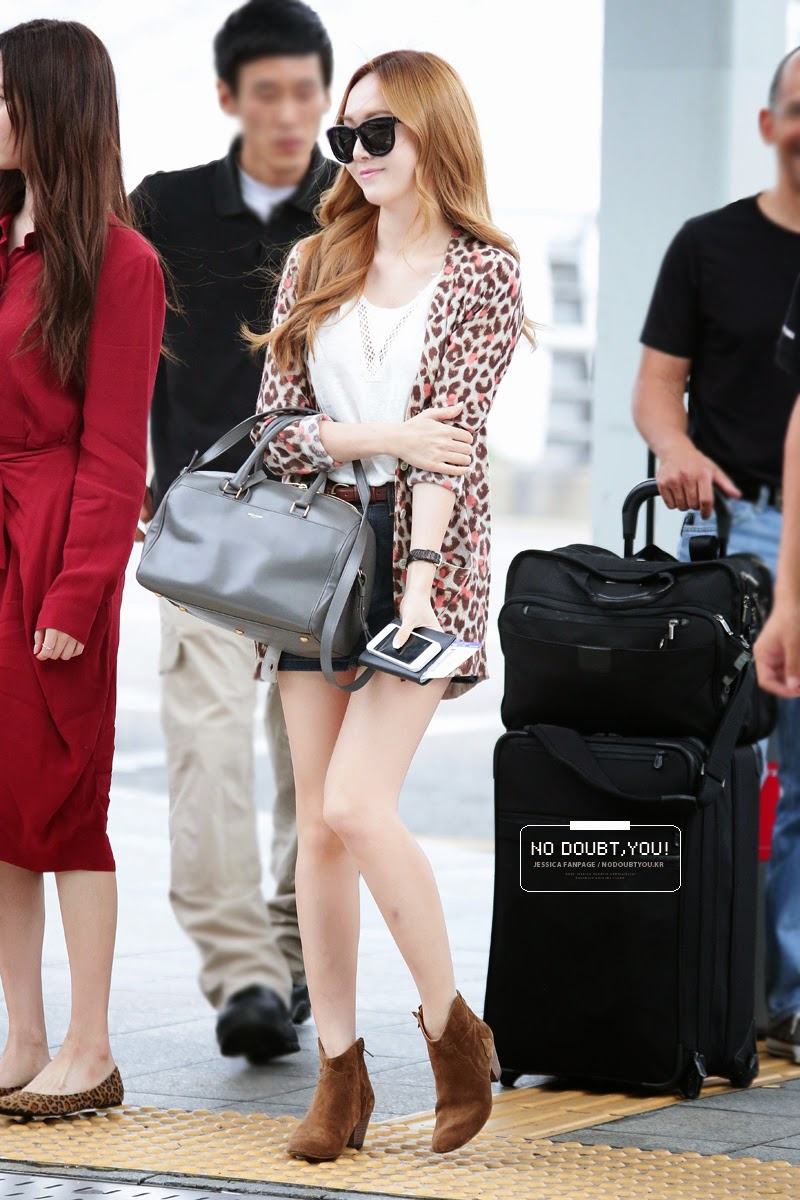 Fastion: Airport Fashion: SNSD Jessica