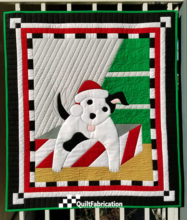 Santa's Helper by QuiltFabrication