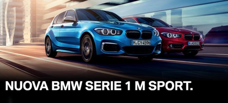 pubblicità bmw serie 1 m sport 2018