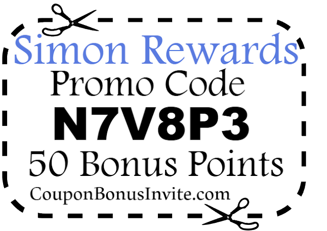 Simon Mall Rewards App Promo Code, SimonRewards Sign Up Bonus, Simon Rewards App Referral Codes
