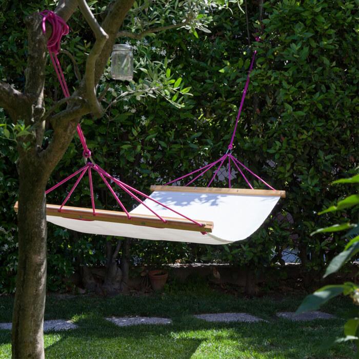 Amaca per giardino resistenti, facili da montare e pulire by Doopy Design