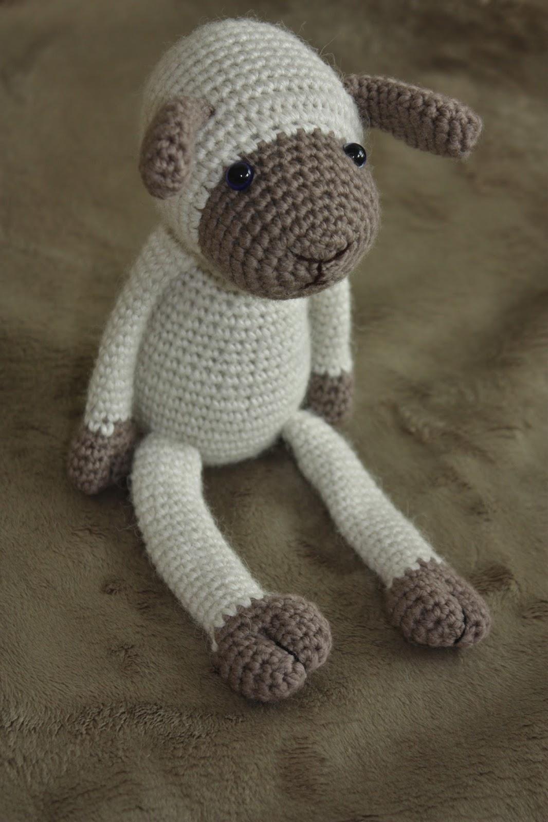 Amigurumi Crochet Lamb : Happyamigurumi: New Amigurumi Sheep Pattern