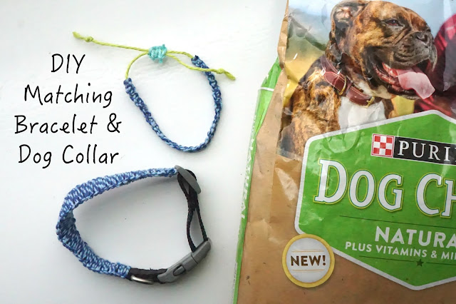 DIY: Matching Square Knot Bracelet and Collar