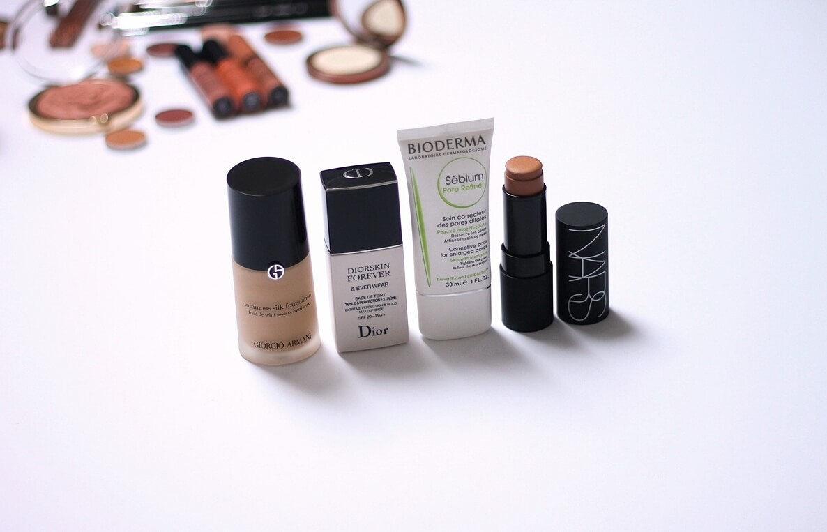 DIOR EVER WEAR MAKEUP PRIMER SPF20 BIODERMA SEBIUM PORE REFINER NARS MATTE MULTIPLE Altai GIORGIO ARMANI LUMINOUS SILK FOUNDATION 4 review recenzija