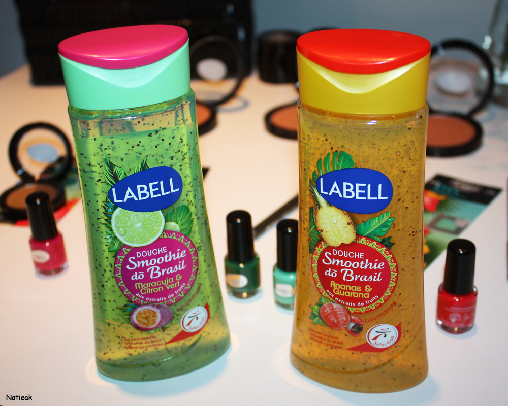 Labell smoothies do brazil Rio 2016
