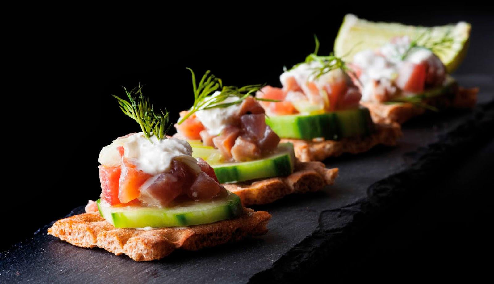 Blog gastronomico - Variedad de canapes frios ...
