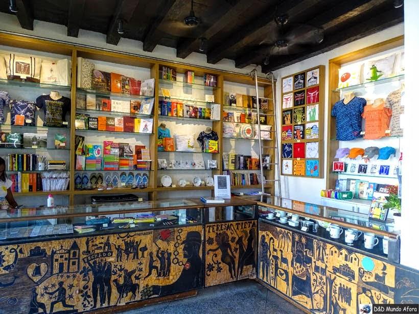 O que fazer em Salvador (Bahia) - Fundação Casa de Jorge Amado - Loja e livraria