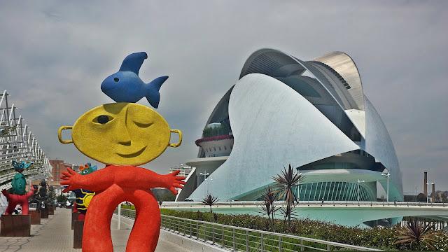 Miasto Sztuki i Nauki w Walencji, projekt: Santiago Calatrawa