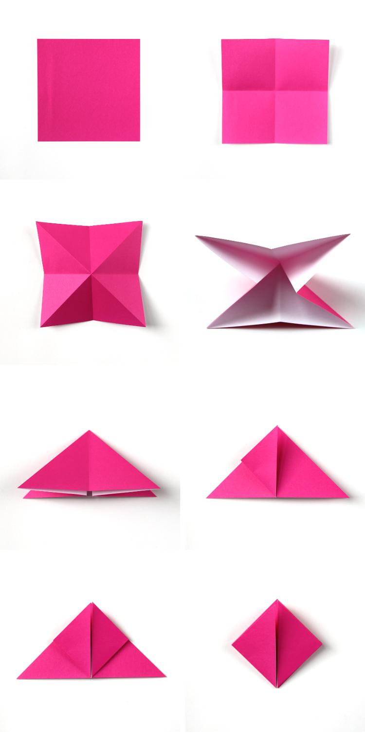 Diy Origami Box Fairy Lights  Gathering Beauty