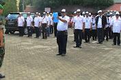 Peserta Asal Selayar Jadi Pembaca Ikrar Jambore Pers Dan Apel Bela Negara 2016 Di Makassar