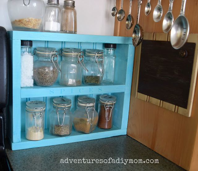 How to Make a Spice Rack